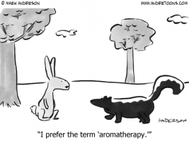 Aromatherapy - Rabbit and Skunk