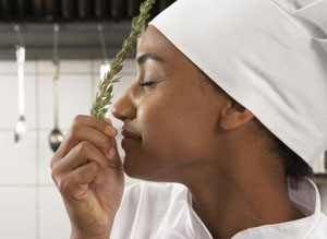 smelling rosemary-1